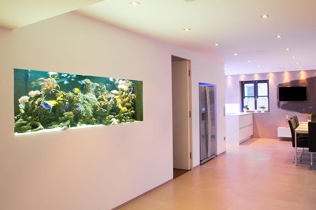 Aquarium im Loft