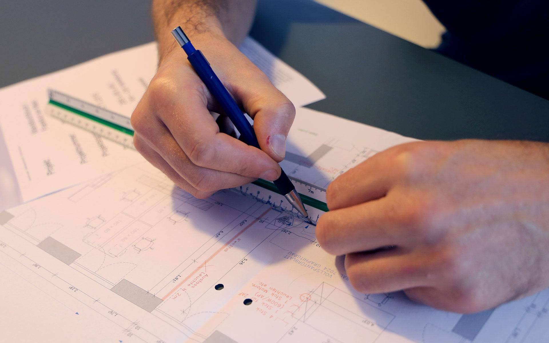 Von der Planung bis zum Design