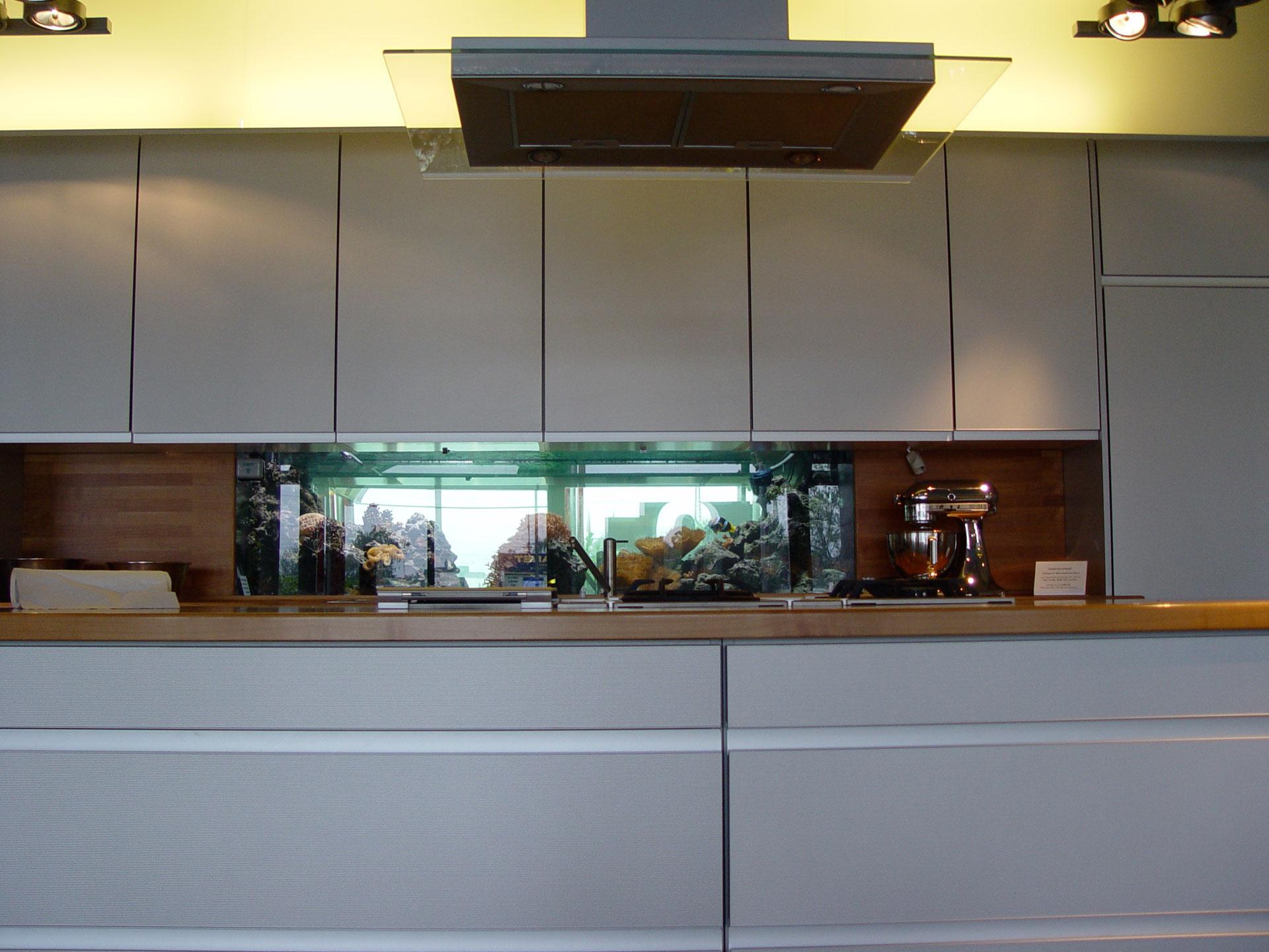 Kuchenstudio Meerwasseraquarium
