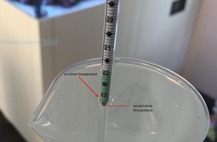 Dichtemesser Messung Salzgehalt
